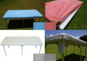 Toptablecloth Table Cover Elastic On The Corner For